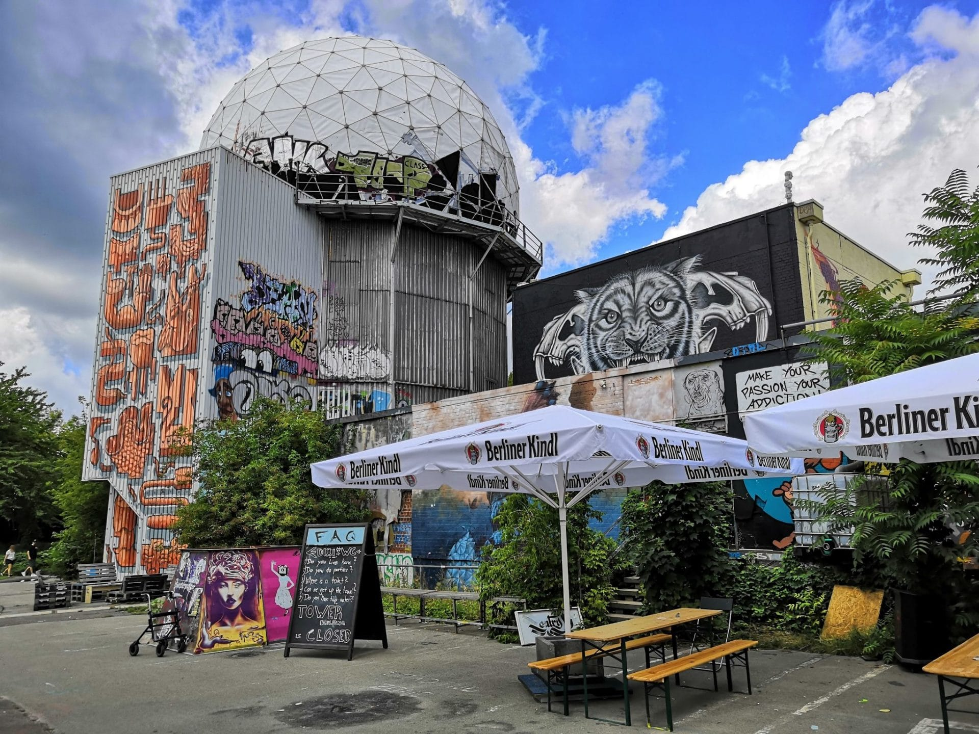 Airstream Adventures Berlin Teufelsberg