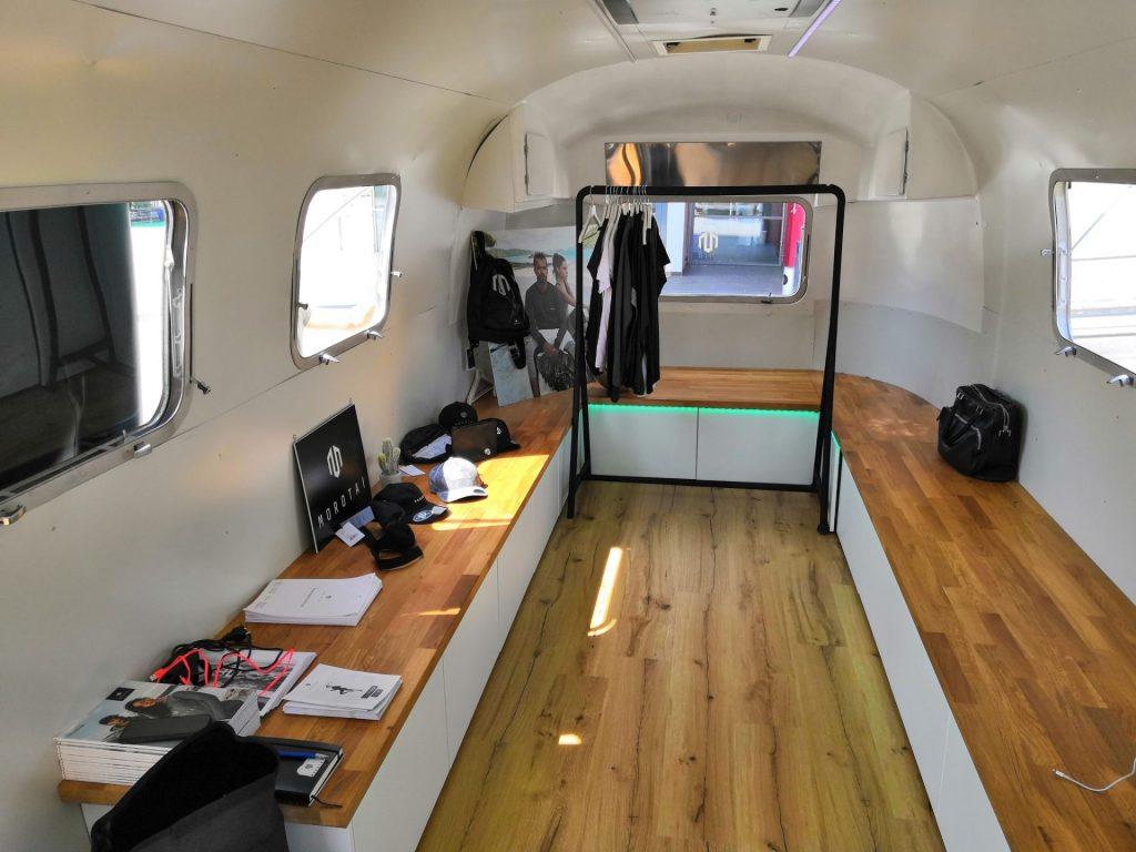 Airstream Mobile Lounge Intersport Messe Heilbronn Innen