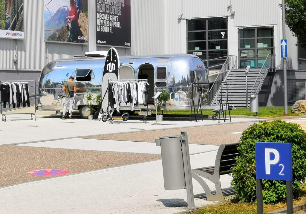 Airstream Mobile Lounge Intersport Messe Heilbronn