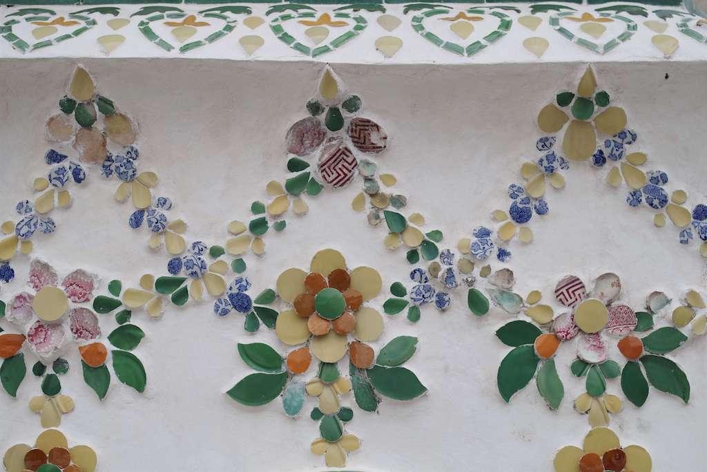 ワットアルンの装飾