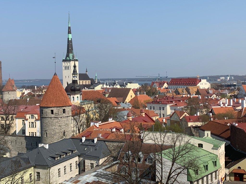 エストニアのタリンの街並み