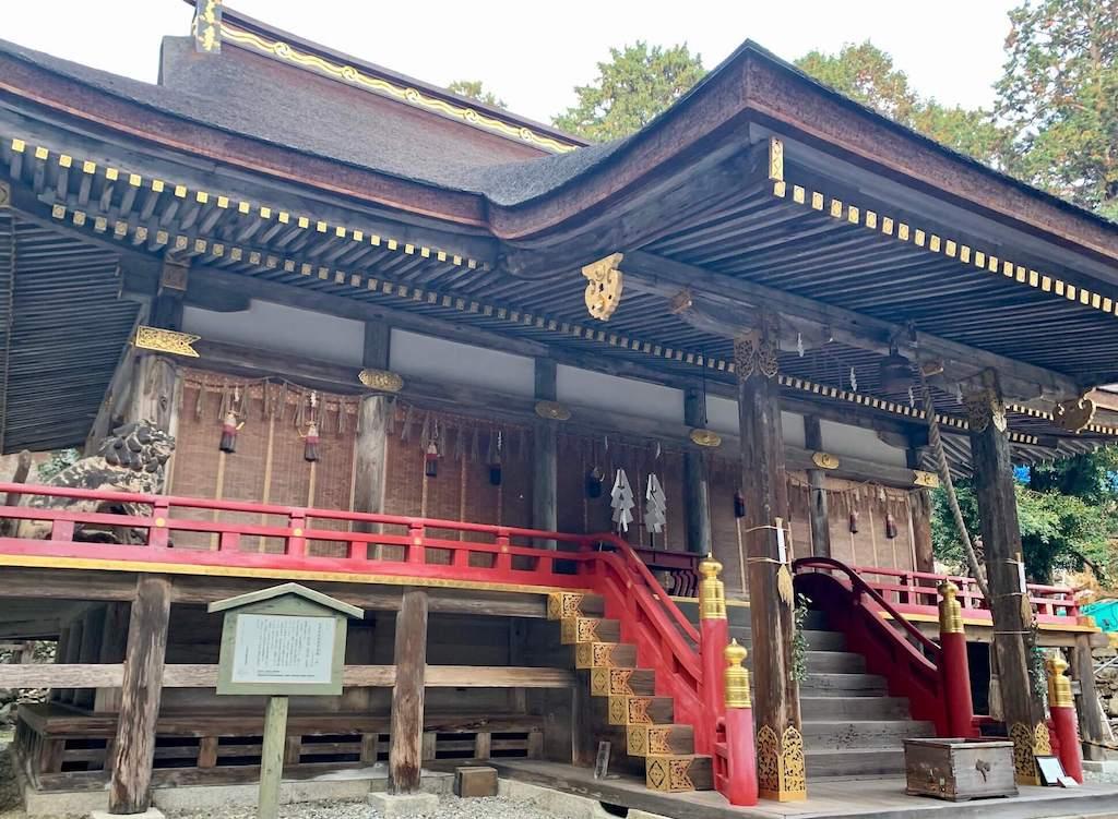日吉大社の東本宮本殿