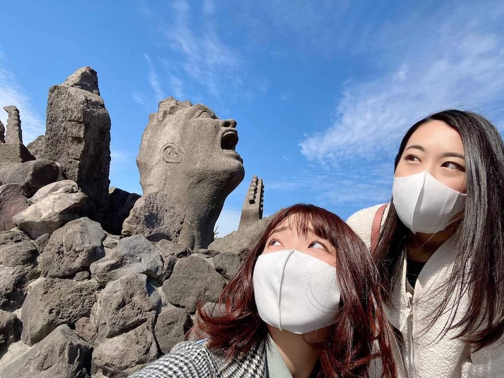 桜島の叫びの肖像