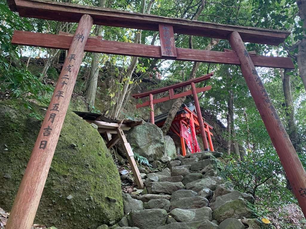 祐徳稲荷神社の奥の院への道
