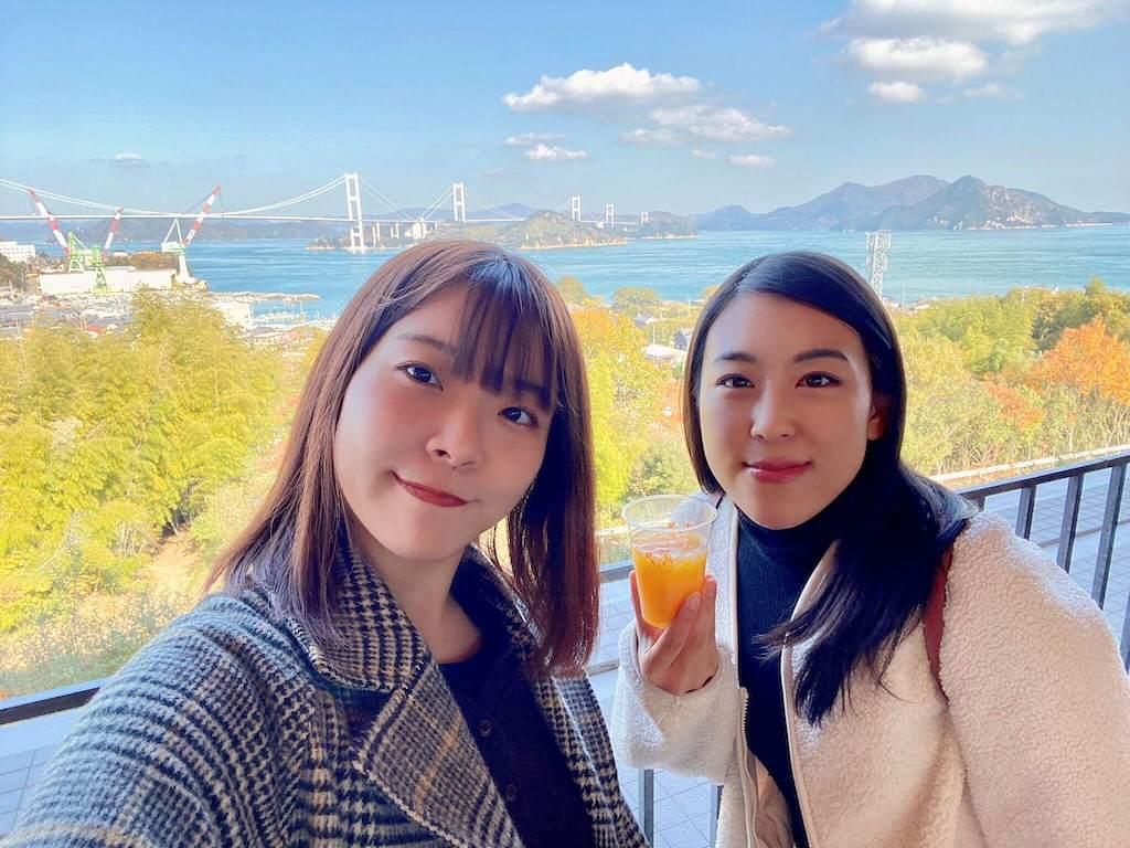 来島海峡サービスエリアの景色