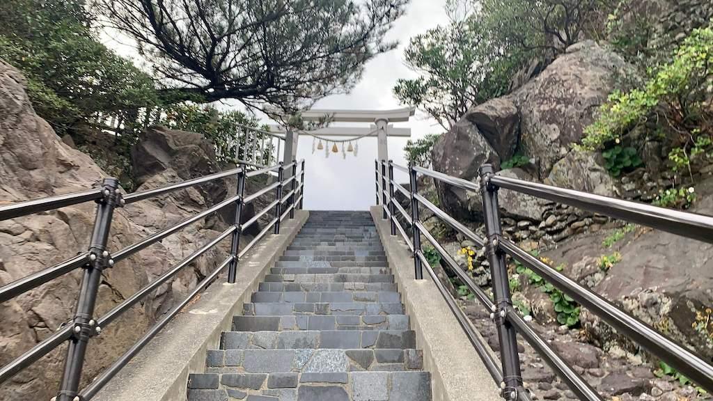 桂浜にある神社