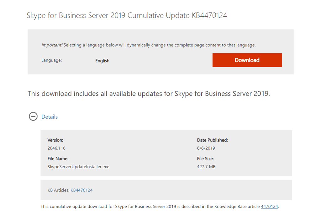 cannot install skype for business basic