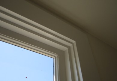 Contemporary Interior Window Trim Revisiting White Paint