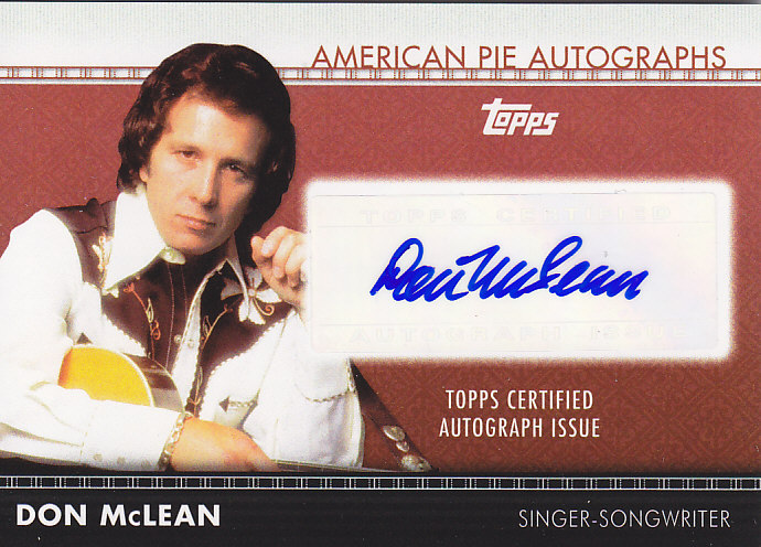 2011 American Pie box break (3/6)