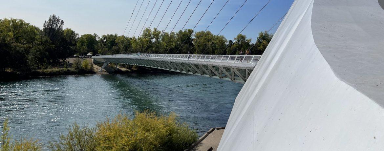 Redding CA Sundial Bridge
