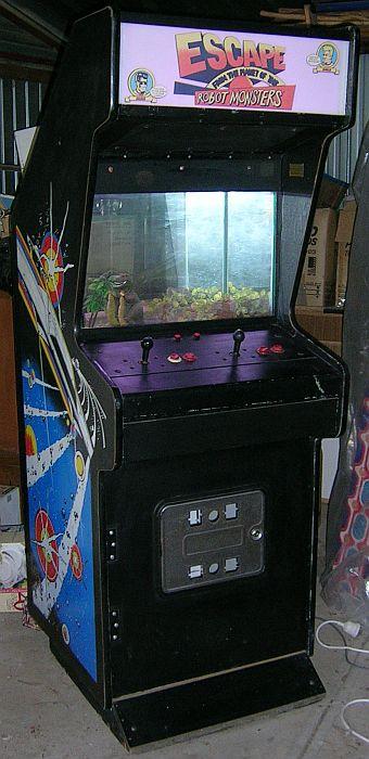 Arcade Cabinet Fish Tank  Thomas Tilley