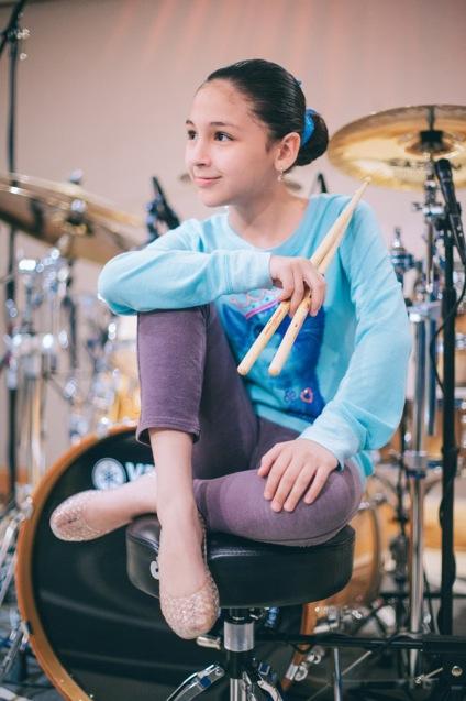 Killer Drummer Paulina Villarreal Vlez  Tom Tom Magazine