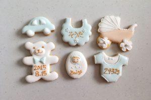 男の子内祝いクッキー