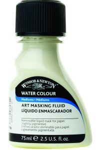 An example of Latex Art Masking Fluid. This is the brand I used, but there are many others.