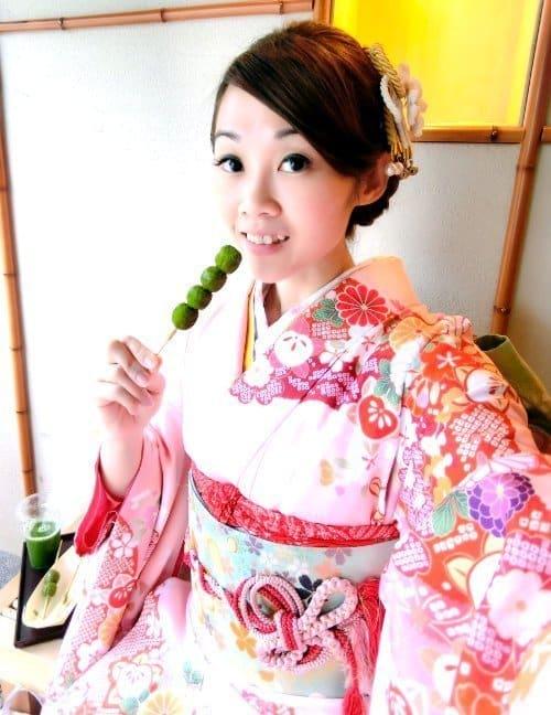 シンガポール人-京都-外国-人-着物-写真