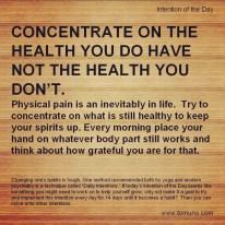 DI24_Concentrate on Health