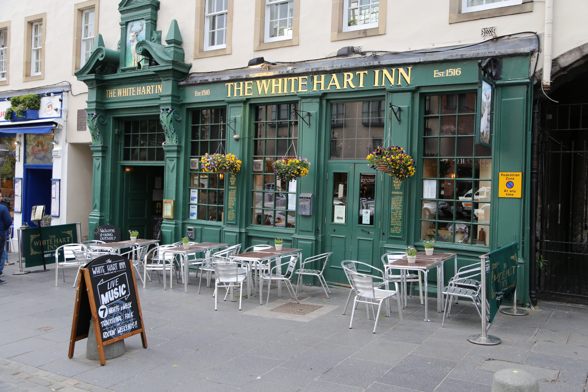 White Hart Inn Pub Edinburgh  Wayfarer