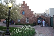 Courtyard entrance to The Cellar.