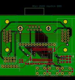 pcb layout rev 2 [ 1614 x 1168 Pixel ]
