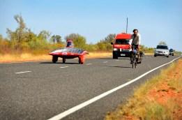 Voor de duidelijkheid. In Australie rijdt iedereen links.... (Joost van Baars)
