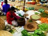 Overal kleine marktjes waar er land is