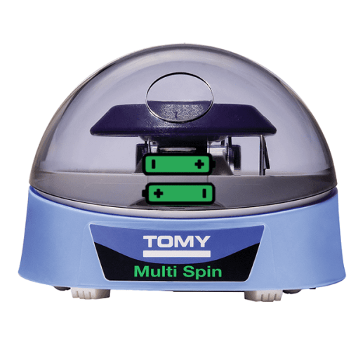 TOMY Multi Spin Mini Centrifuge, front view