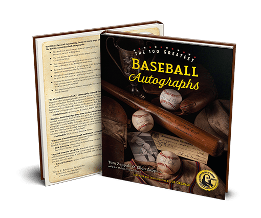 100 Greatest Baseball Autographs - Award-Winning Baseball Collectors Book
