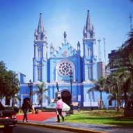 Beautiful Church in Lima