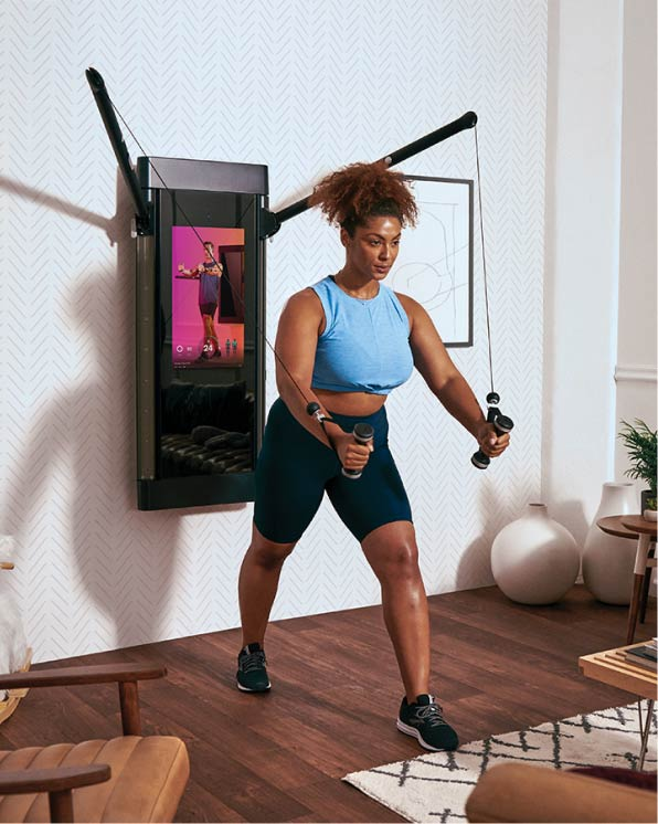 Home Gym Equipment San Diego : equipment, diego, Tonal:, World's, Intelligent, Personal, Trainer