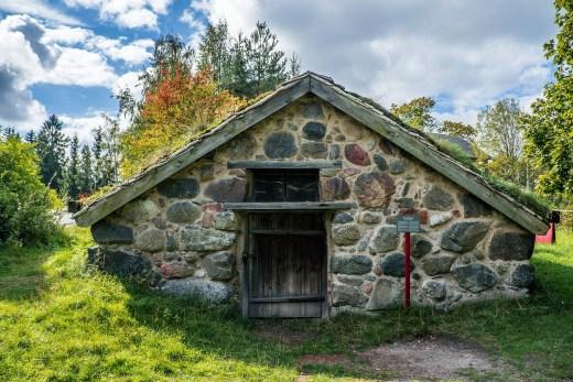 Hut in Sweden