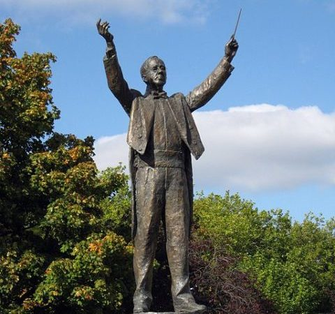 Statue of Gustav Holst
