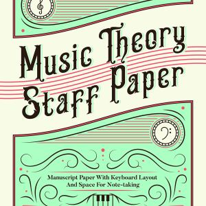 Music Theory Staff Paper cover art