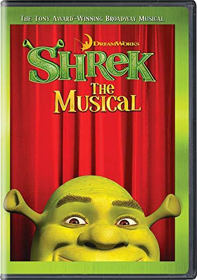 Shrek the Musical video cover art