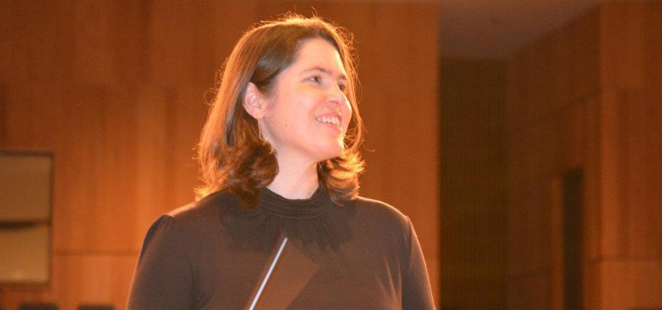 Lori as conductor