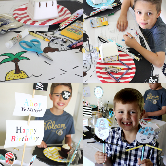Pirate Birthday Party Printable by Tonality Designs