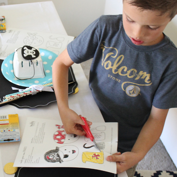 DIY Pirate & Pirate Ship Kids Craft
