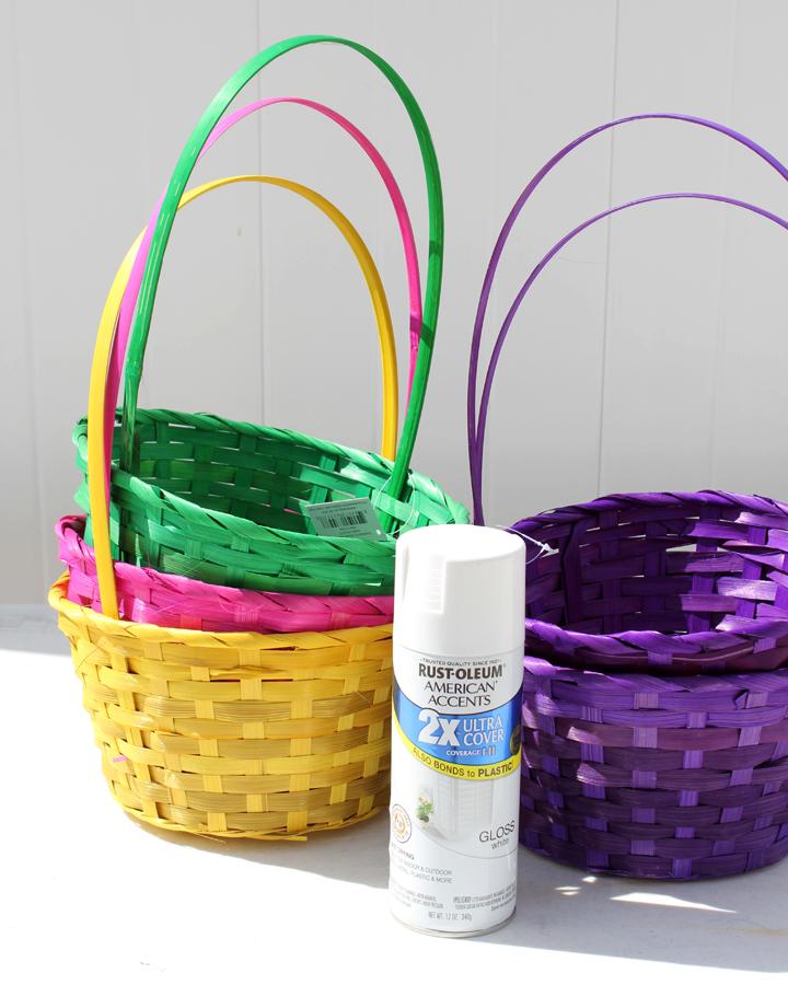 DIY Blooming Easter Baskets