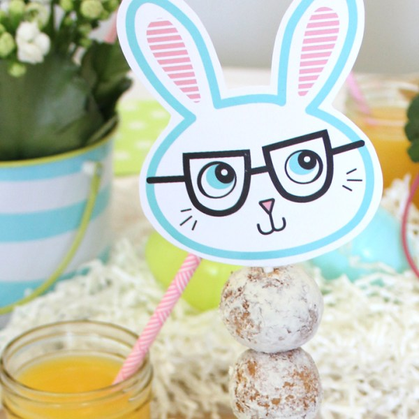 FREE Easter Bunny Printables | Via Tonality Designs
