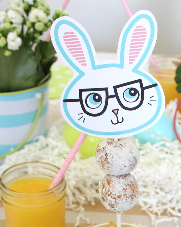 FREE Easter Bunny Printables   Via Tonality Designs