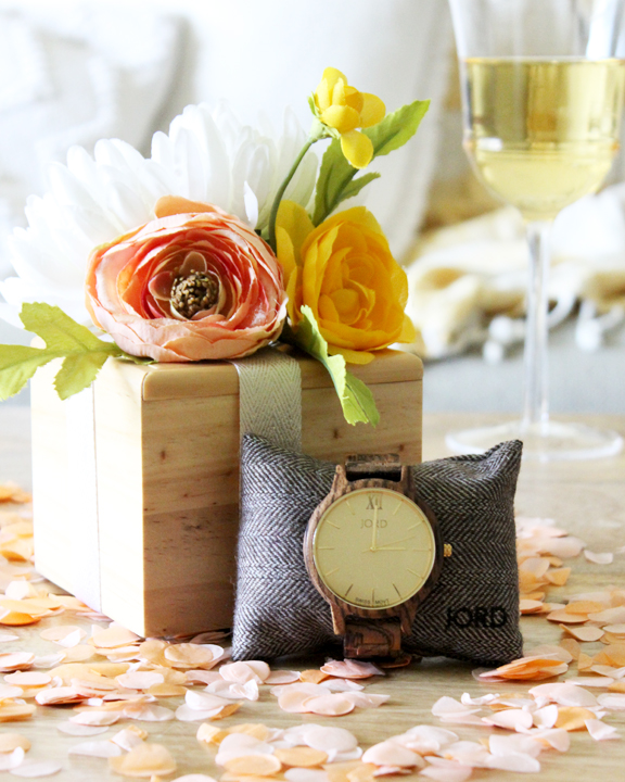 Word Watch Giveaway and DIY Floral Gift Topper