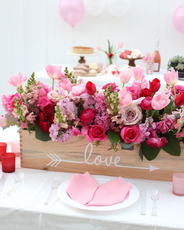Galentine's Day Party Ideas for Valentine's Day via Tonality Designs