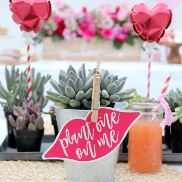 Galentine's Day Party with FREE Valentine's Day Printables