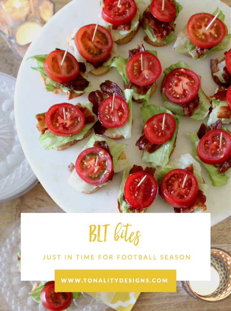 BLT Bites- perfect for game day