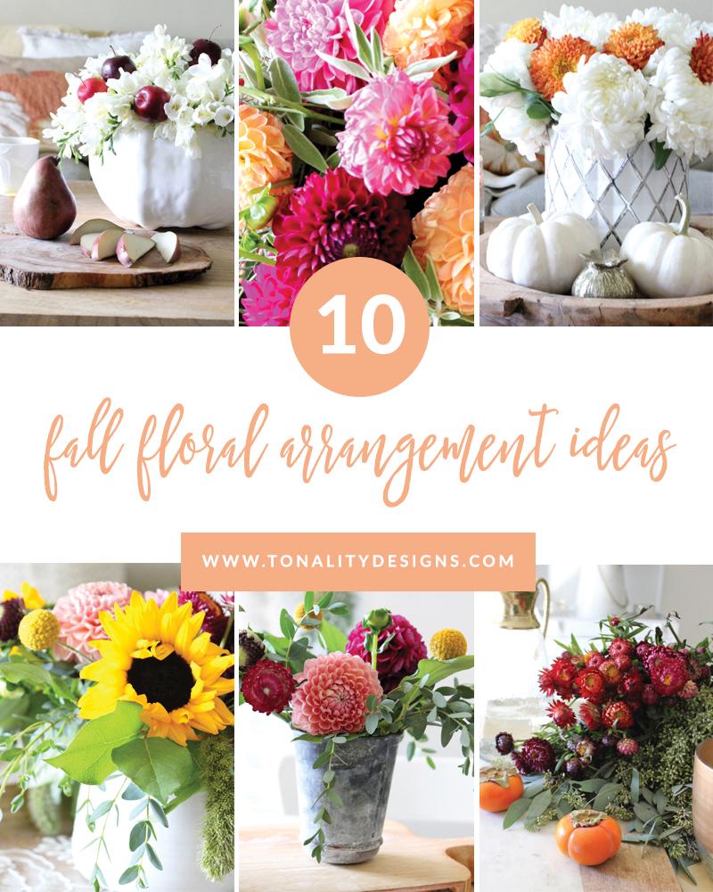 10 fall floral arrangement ideas - Floral Design Ideas