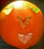 mylintis apelsinas
