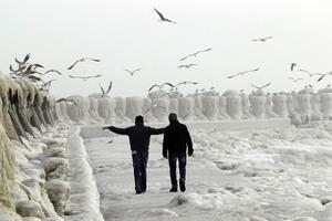 žiema Europoje