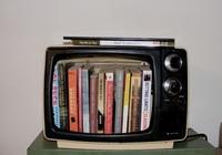 knygos televizoriuje