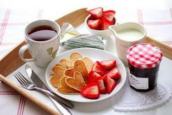 pusryčiai valentino dienai