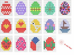 Easter Beads patterns2