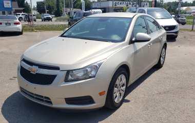 Chevrolet Cruze 2014 1LT – Bluetooth – Cruise – Demarreur